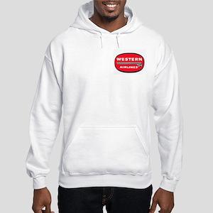 Hooded Western Airlines Sweatshirt
