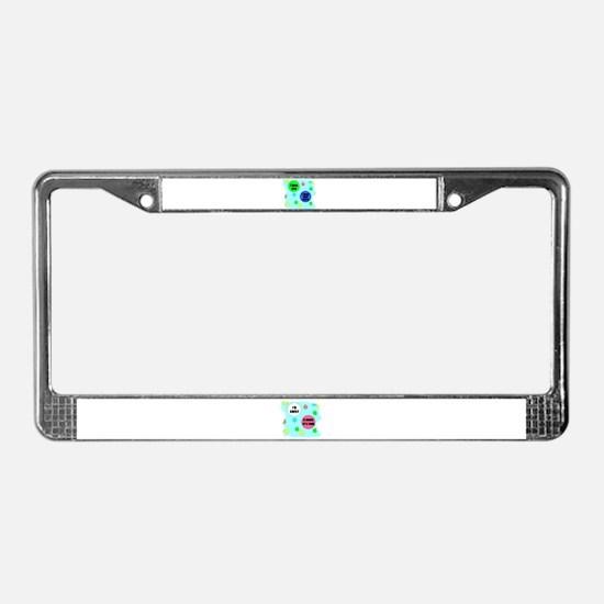 I LOVE YOU MORE License Plate Frame