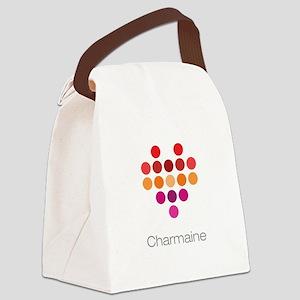 I Heart Charmaine Canvas Lunch Bag