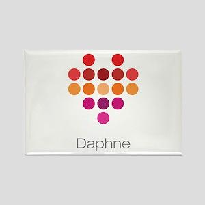 I Heart Daphne Rectangle Magnet
