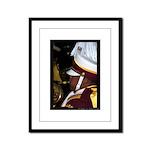Centurions Mardi Gras Framed Panel Print