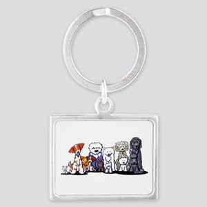 Usual Suspects Landscape Keychain