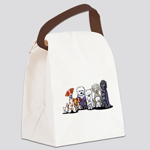 Usual Suspects Canvas Lunch Bag