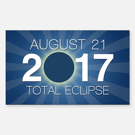 Solar Eclipse 2017 Decal