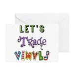 Let's Trade Vinyls Greeting Cards (Pk of 10)
