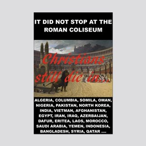 It Did Not Stop At The Roman Mini Poster Print