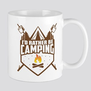 Rather Be Camping 11 oz Ceramic Mug