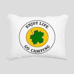 camping5 Rectangular Canvas Pillow