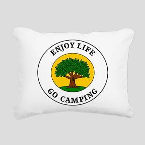 camping3 Rectangular Canvas Pillow