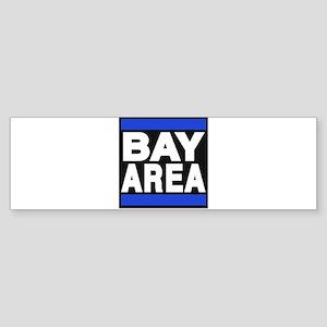 bayarea blue Bumper Sticker