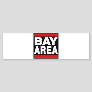 bayarea red Bumper Sticker