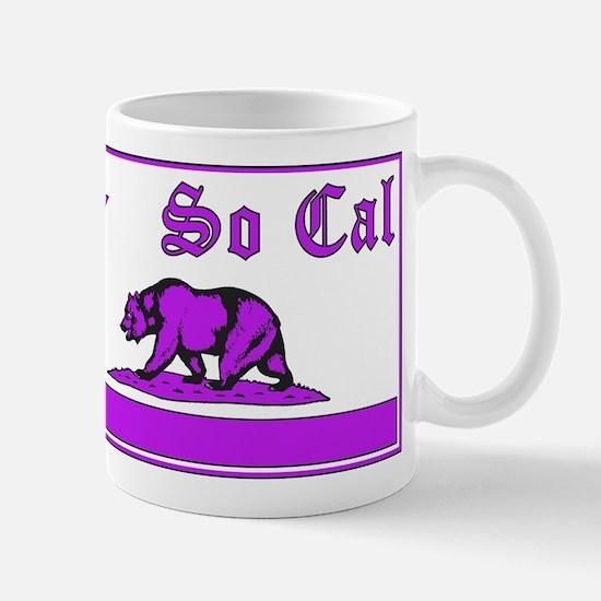 so cal bear purple Mug