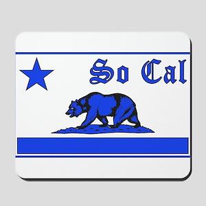 so cal bear blue Mousepad