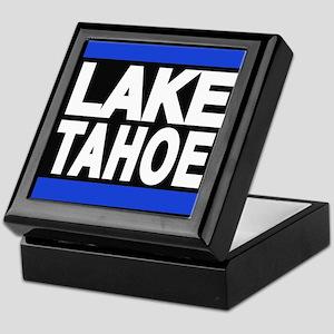lake tahoe blue Keepsake Box