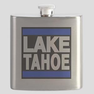lake tahoe blue Flask