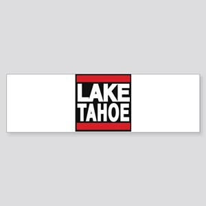 lake tahoe red Bumper Sticker