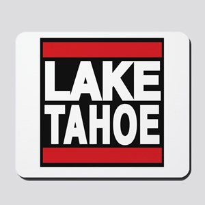 lake tahoe red Mousepad