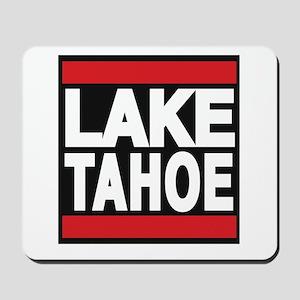 lake tahoe red Mousepad