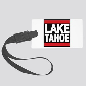 lake tahoe red Luggage Tag