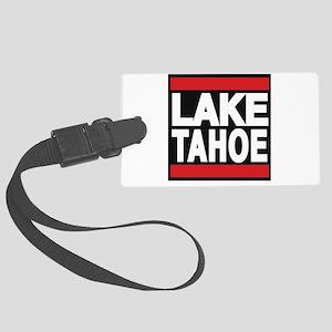 lake tahoe red Luggage Tag