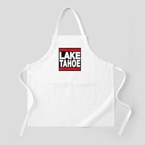 lake tahoe red Apron