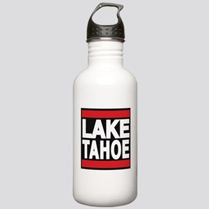 lake tahoe red Water Bottle