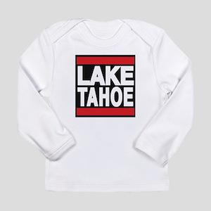 lake tahoe red Long Sleeve T-Shirt