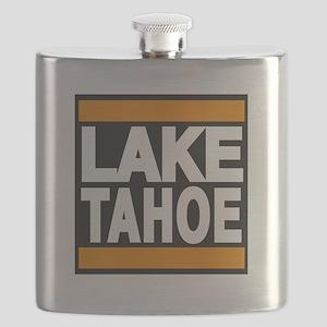 lake tahoe orange Flask
