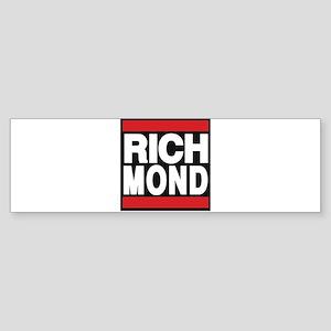richmond red Bumper Sticker