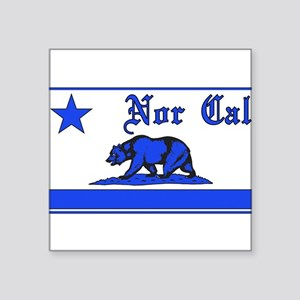 nor cal bear blue Sticker