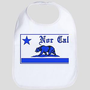 nor cal bear blue Bib
