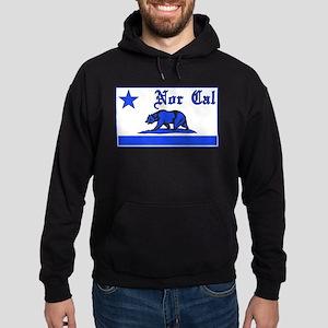 nor cal bear blue Hoodie