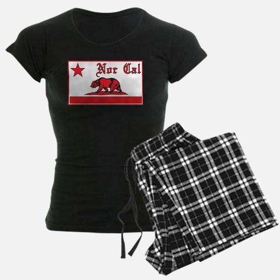 nor cal bear red Pajamas