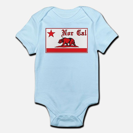 nor cal bear red Body Suit