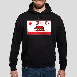 nor cal bear red Hoodie