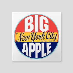 "New York Vintage Label 3"" Lapel Sticker (48 p"