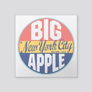 "New York Vintage Label 3"" Lapel Sticker (48 p"
