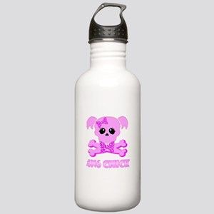 NCIS Abby 4N6 Chick Stainless Water Bottle 1.0L