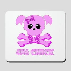NCIS Abby 4N6 Chick Mousepad