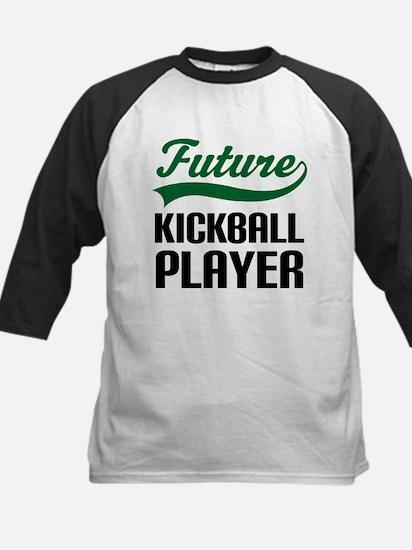 Future Kickball Player Kids Baseball Jersey
