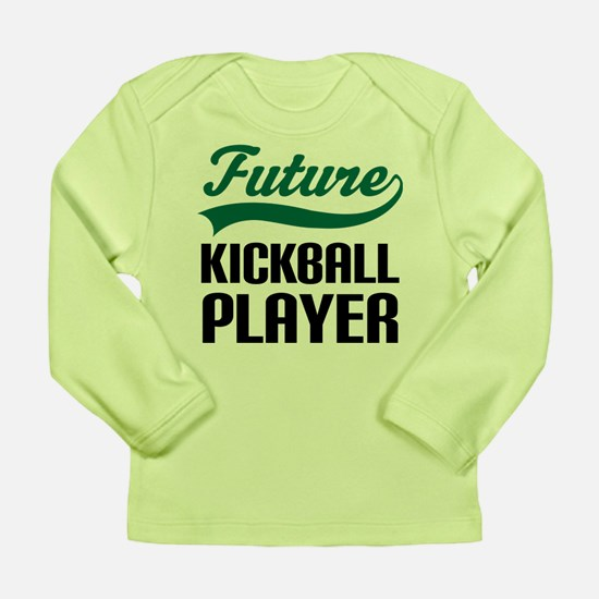 Future Kickball Player Long Sleeve Infant T-Shirt