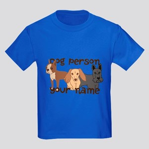 Custom Personalized Dog Person T-Shirt