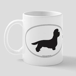 DD Terrier Silhouette Mug