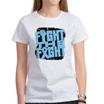 Fight The Fight Prostate Cancer Women's T-Shirt