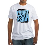 Fight The Fight Prostate Cancer Fitted T-Shirt