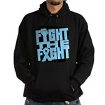 Fight The Fight Prostate Cancer Hoodie (dark)