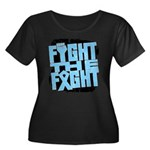 Fight The Fight Prostate Cancer Women's Plus Size