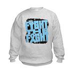 Fight The Fight Prostate Cancer Kids Sweatshirt
