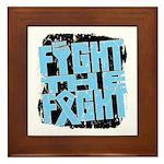 Fight The Fight Prostate Cancer Framed Tile
