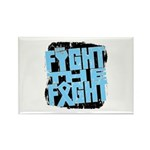Fight The Fight Prostate Cancer Rectangle Magnet (